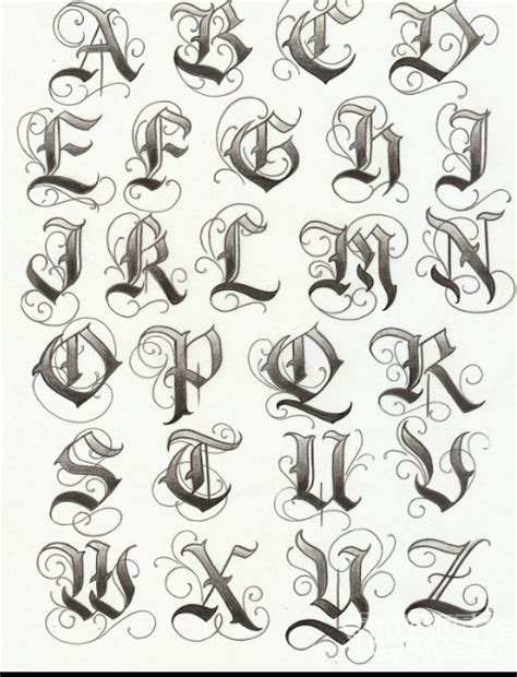 tattoo lettering capitals tattoo alphabet fonts by lilz eu what i want