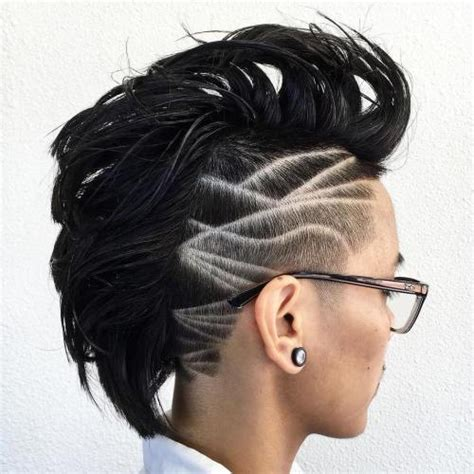 mohawk shaved designs 70 most gorgeous mohawk hairstyles of nowadays