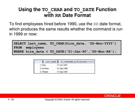 format date function ppt using conversion functions and conditional
