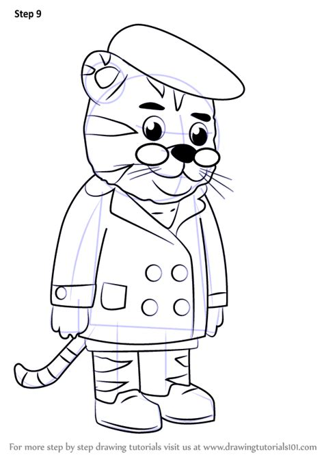How To Draw Daniel Tiger