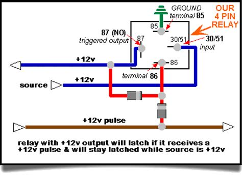 87 87a relay wiring diagram wiring diagram schemes
