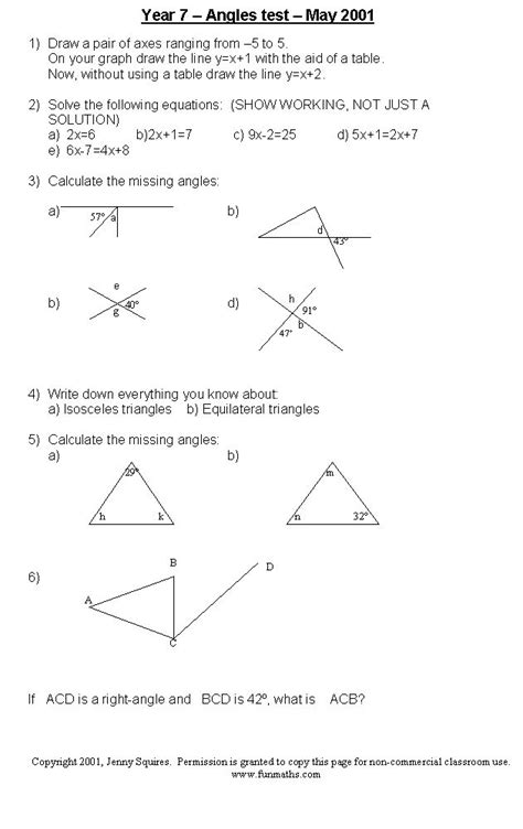 High School Geometry Worksheets by 100 Best Images About Geometry Angles On