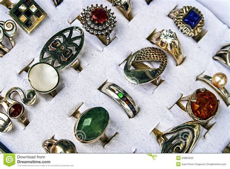 Trinkets And Jewelry 10 Stock Photography Image 34864222