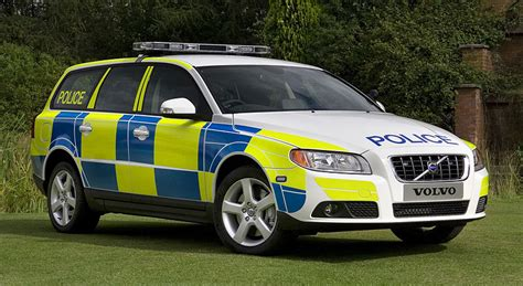 volvo   flexifuel turbo police car