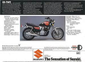 1983 Suzuki Gs750t Suzuki Gs750 Specs Ehow