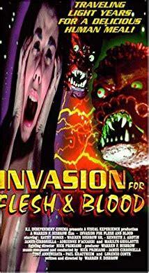 invasion  flesh  blood video