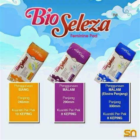 Bio Di Pasaran product kesihatan bio seleza feminine pad