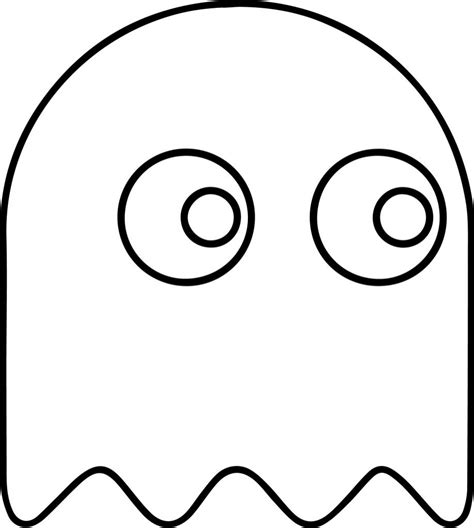 Download Coloring Pages Pac Man Coloring Pages Free Pac Coloring Page