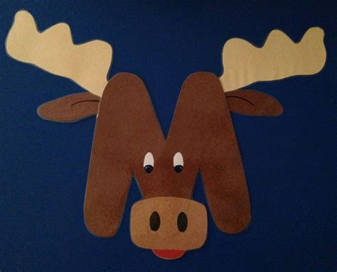 moose crafts for 17 best ideas about letter m crafts on letter