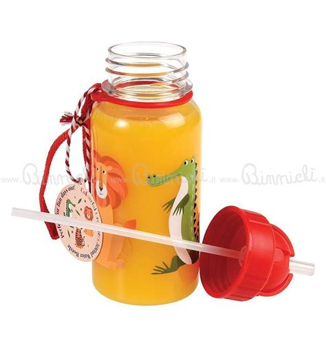 Water Bottle With Straw Animal Mixer water bottle with straw for animals