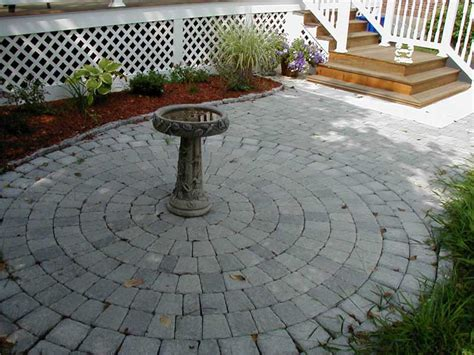 Circular Paver Patio Beautiful Patio Paver Kits 9 Circular Paver Patio Kits Home Depot Newsonair Org