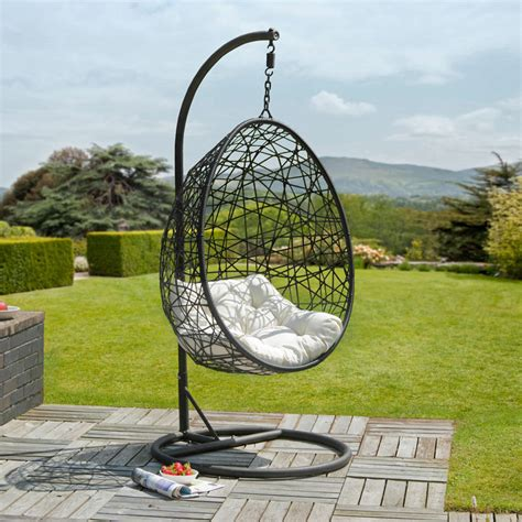 garden swing egg chair garden swings to make your summer swing along nicely
