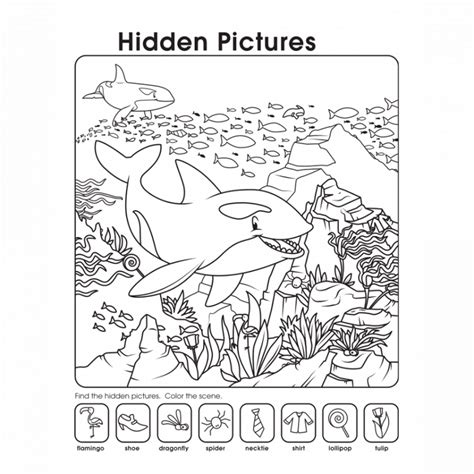 printable simple hidden pictures printable hidden pictures worksheets activity shelter