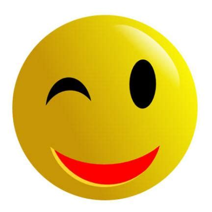 winking smiley face emoticon wink smiley face clipart best