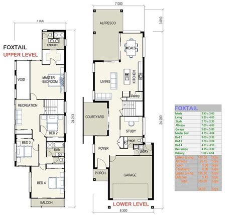house plans by lot size small lot size house plans