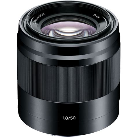 Sony Lens E 50mm F1 8 Oss Silver Lensa Sony 50mm F1 8 Resmi sony e 50mm f1 8 oss lens black