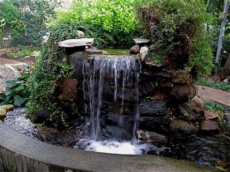Waterfall Design Ideas by Waterfalls Striking Complement To Backyard Layout