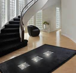 Contemporary Modern Rugs Creative Design Ideas Turning Floor Rugs To Fabulous Home Decorations With Crystals
