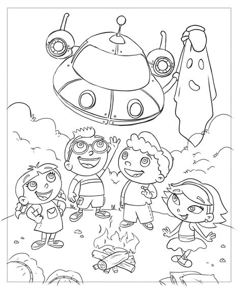 coloring book drawings frank summers animation einsteins coloring book