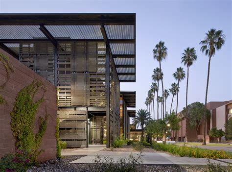 design management asu green and healthy asu health service building awarded