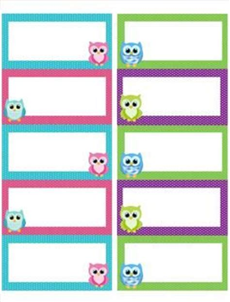 printable owl name tags 38 best name tag templates images on pinterest free