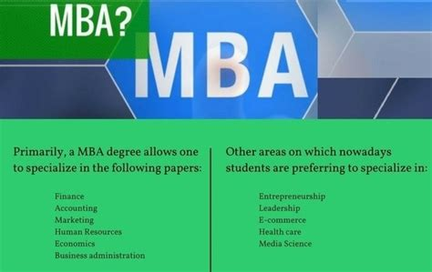 Do I Need Work Experience For Mba by Why Should I Do An Mba Quora
