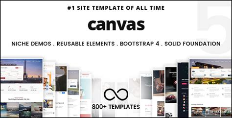 canvas   multi purpose html template pintagercom  visual discovery engine