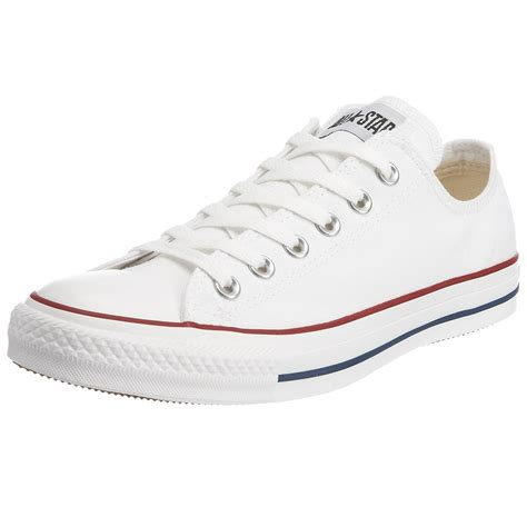 converse all chuck ox white unisex trainers shoes