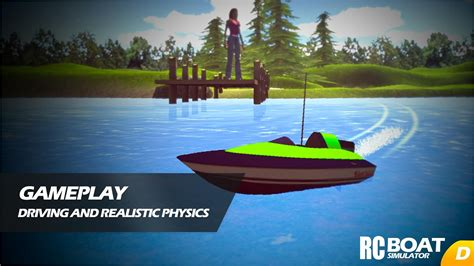rc boat games rc boat simulator android apps on google play