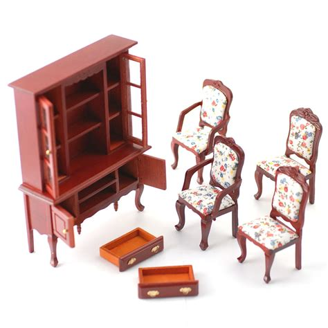 Dining Room Sets Phoenix by Df268 1 12 Scale Dolls House Furniture Dining Room Set