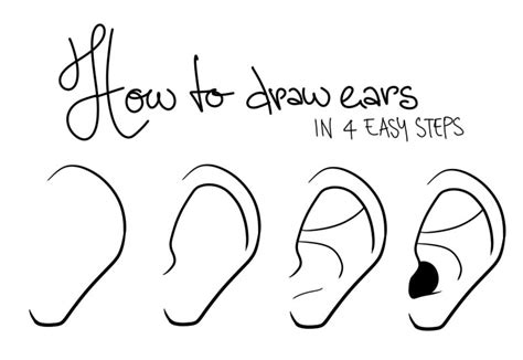 how to draw hands by lily draws on deviantart how to draw ears by lily draws on deviantart