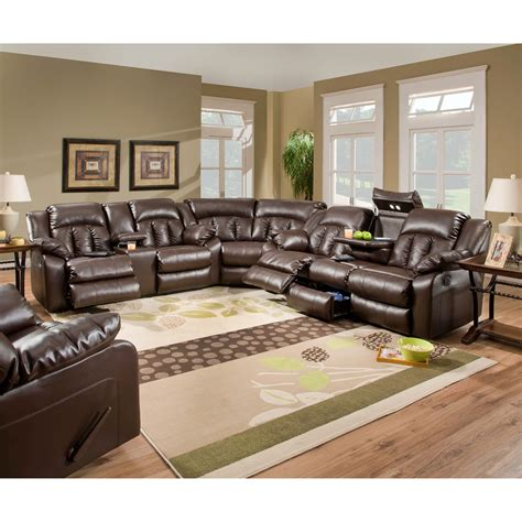simmons furniture sectional simmons upholstery sebring bonded leather sectional