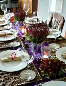 herbstdeko für den tisch tipps tricks tisch dekorieren f 195 188 r thanksgiving