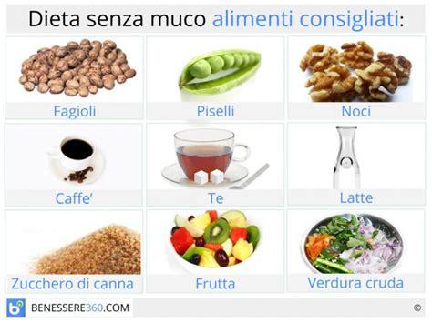 colon irritabile alimentazione consigliata dieta senza muco cosa mangiare alimenti consigliati ed