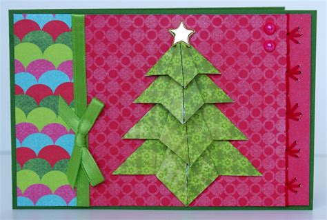 origami maniacs tea bag folding tree card