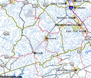 map of brevard carolina brevard vacation rentals hotels weather map and attractions