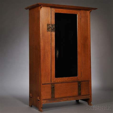 arts and crafts armoire british arts crafts movement smee and cobay armoire