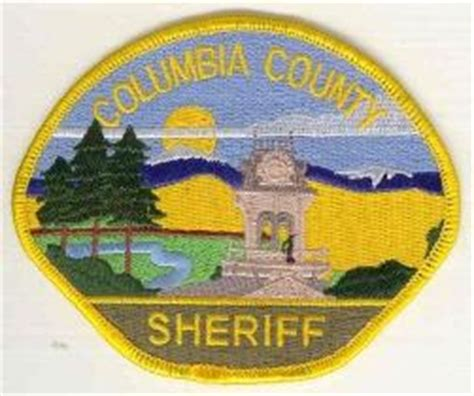 columbia county wa official website sheriff
