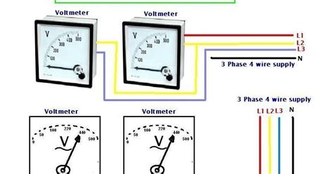 3 phase ac voltage electrical wiring diagrams fuse box