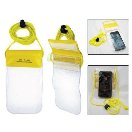 clear waterproof pouch bag dry case cover all cell phone
