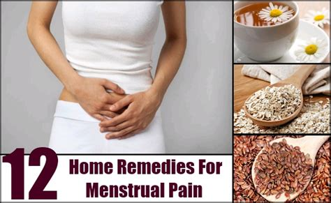 12 home remedies for menstrual remedy