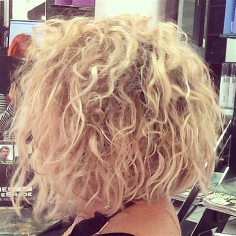 stacked permed hairstyle 17 best images about hair on pinterest bobs loose perm