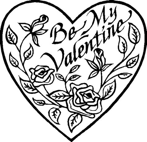 valentine coloring page coloring pages to print