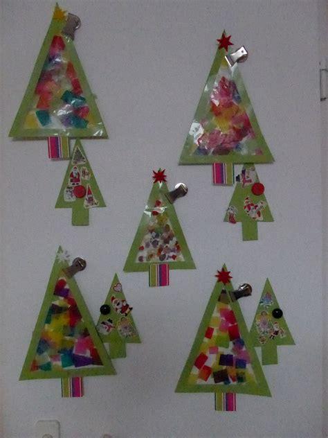 tannenbaum fensterbild weihnachten und winter pinterest