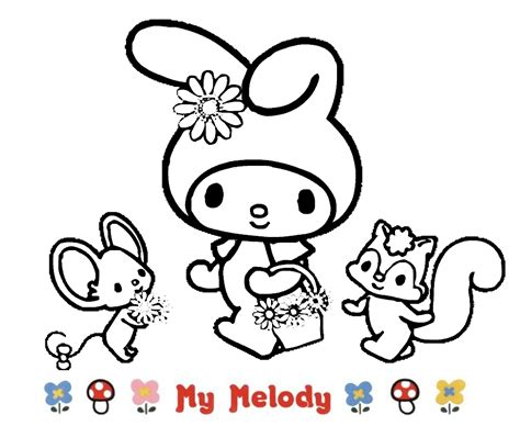 imagenes de hello kitty y melody free coloring pages of violin para colorear