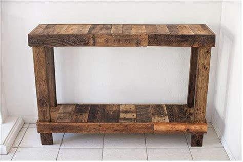 Affordable Dining Room Tables Diy Reclaimed Pallet Wood Tables Diy And Crafts