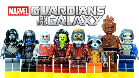 Lego Archangel Bootleg lego guardians of the galaxy knockoff minifigures set 2