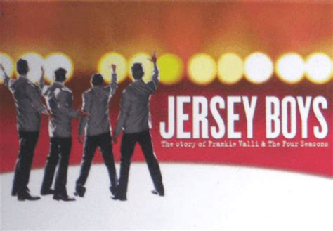 jersey boys  broadway musical logo magnet jersey