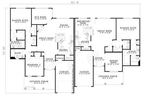 multi unit house plans multi unit house plans home design plan 153 1586
