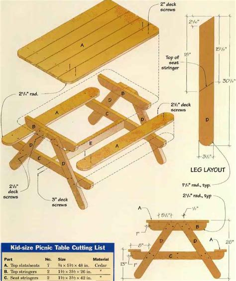 picnic bench dimensions wood average picnic table size pdf plans